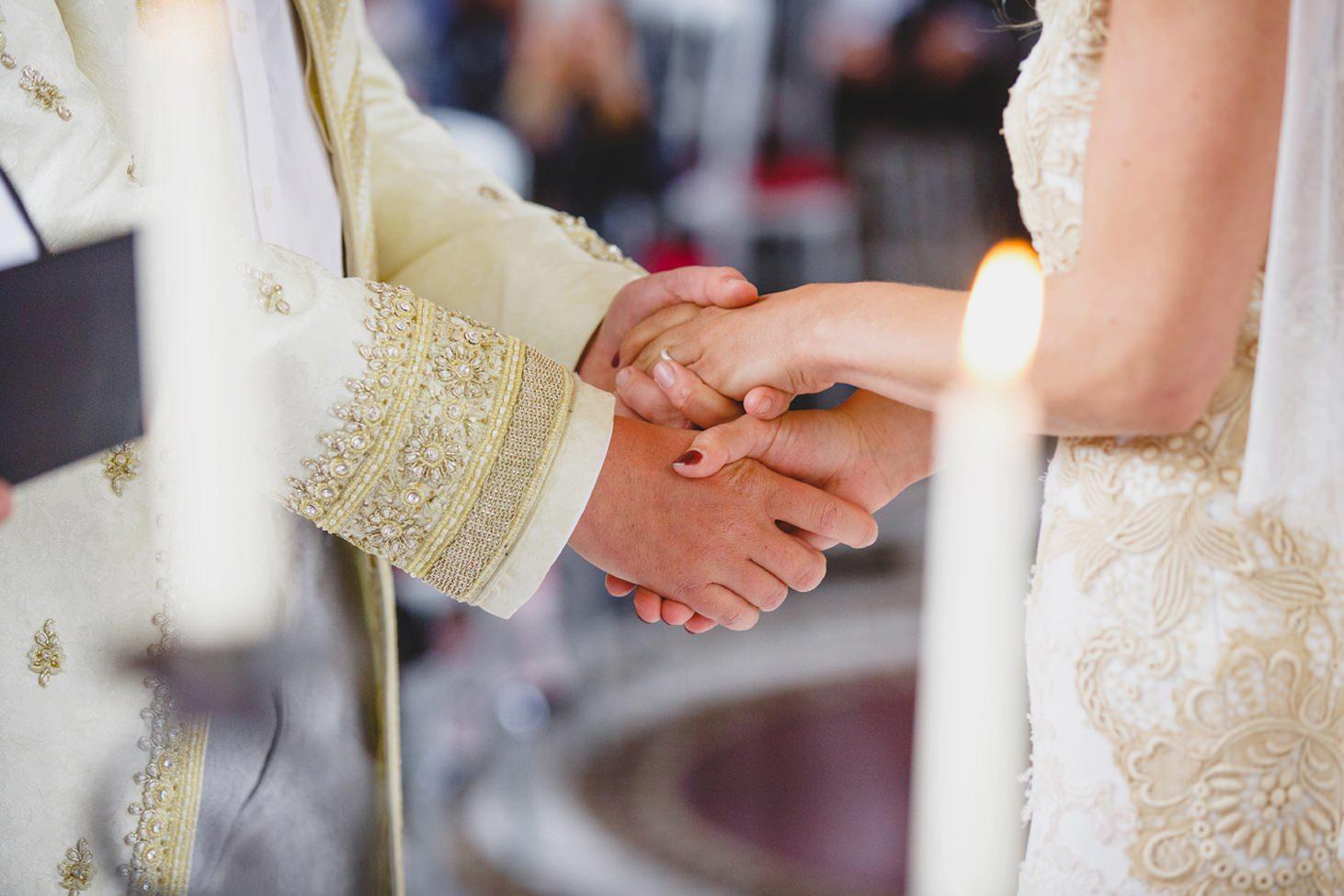 mount stuart wedding photography bride and grooms hands