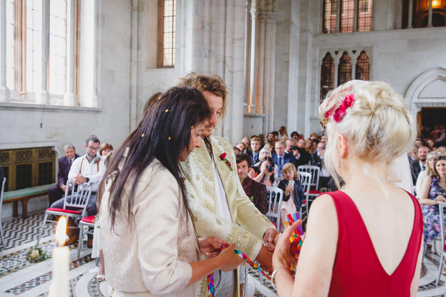 mount stuart wedding photography hand fasting