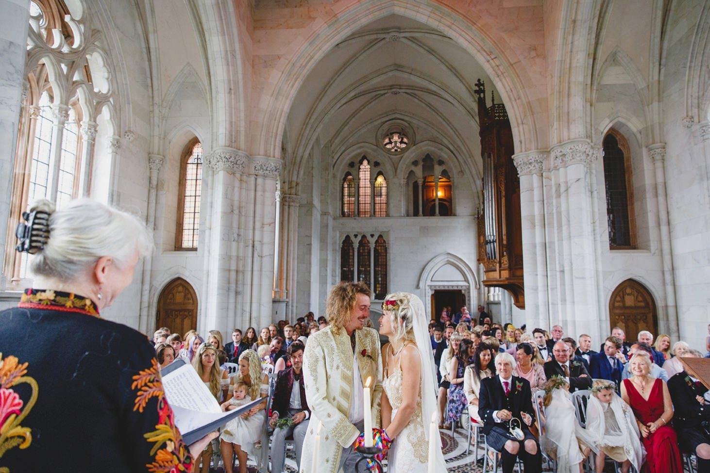 mount stuart wedding photography wedding ceremony