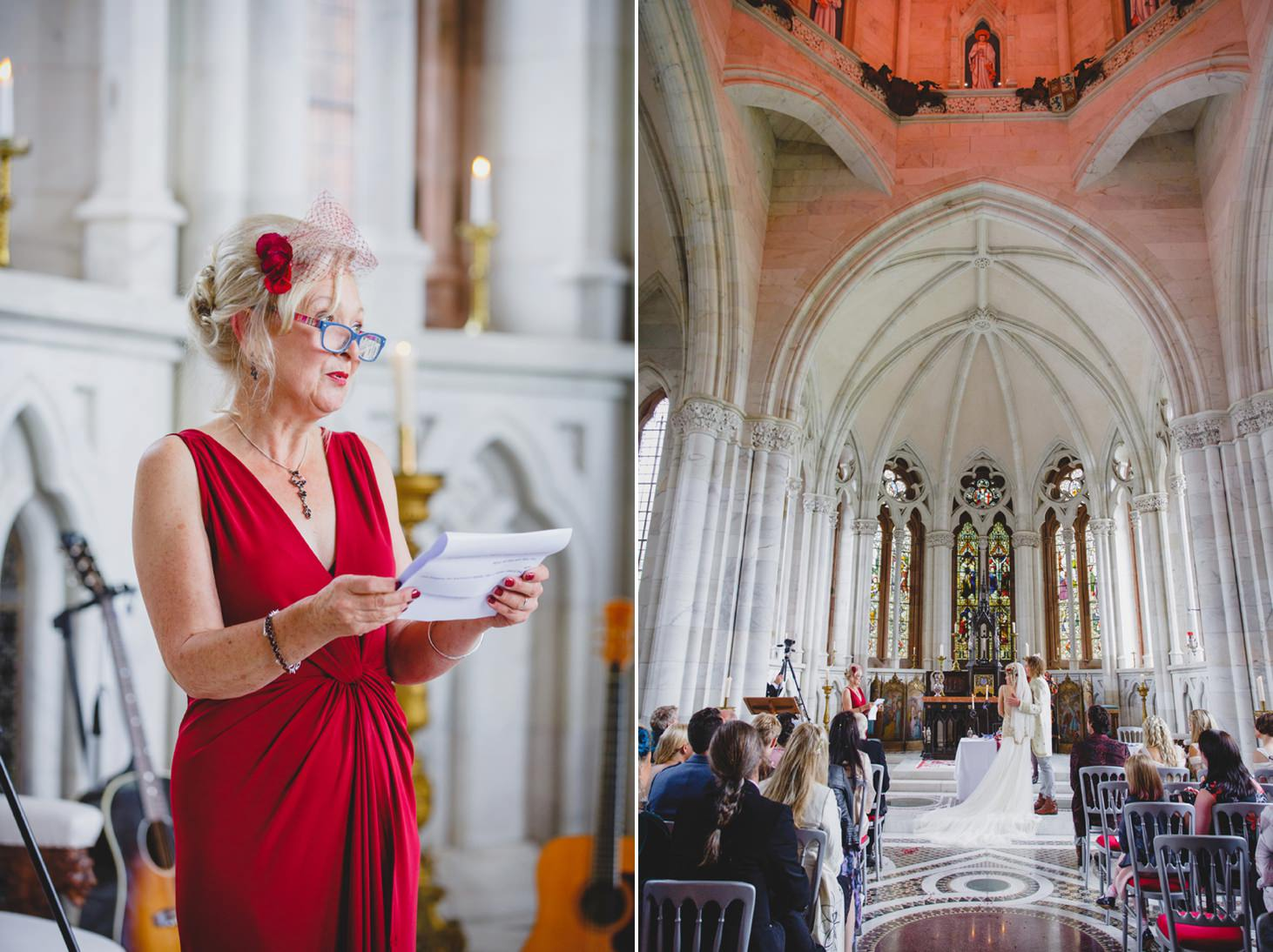 mount stuart wedding photography wedding reading