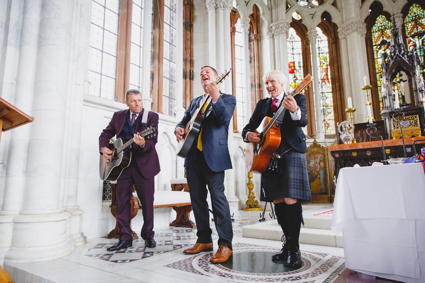mount stuart wedding photography wedding band