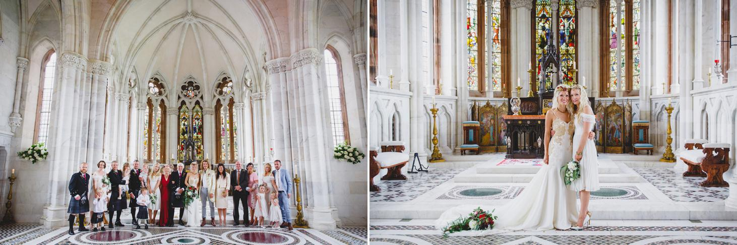 mount stuart wedding photography wedding group photos