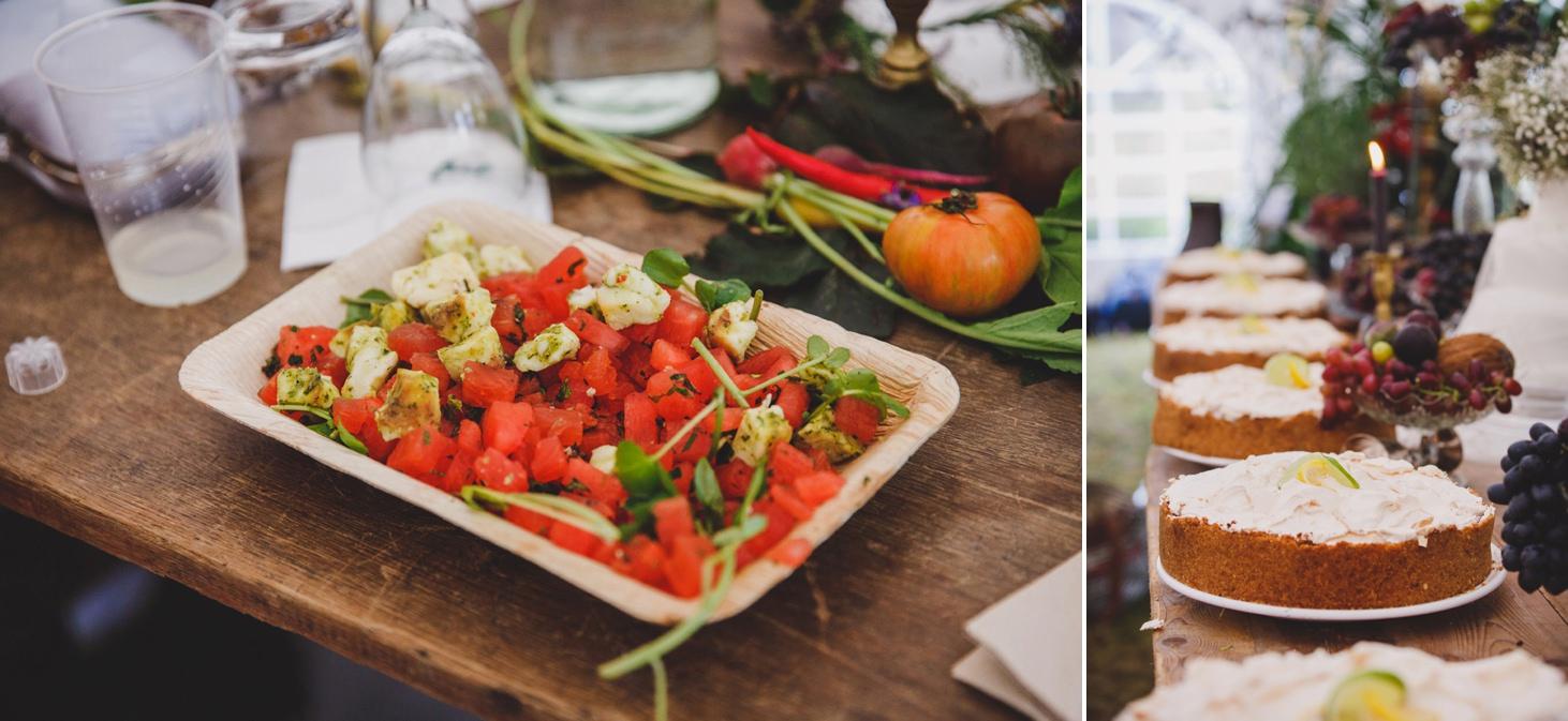 mount stuart wedding photography food details