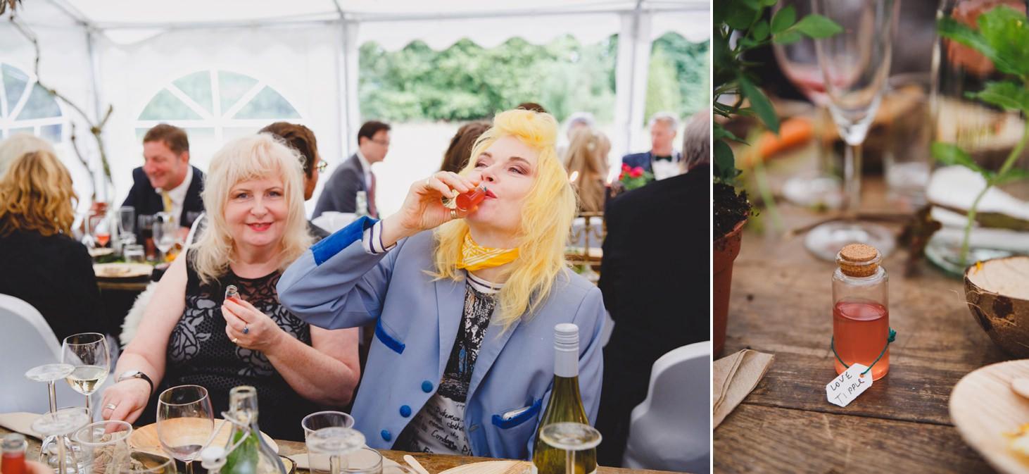 mount stuart wedding photography wedding favours
