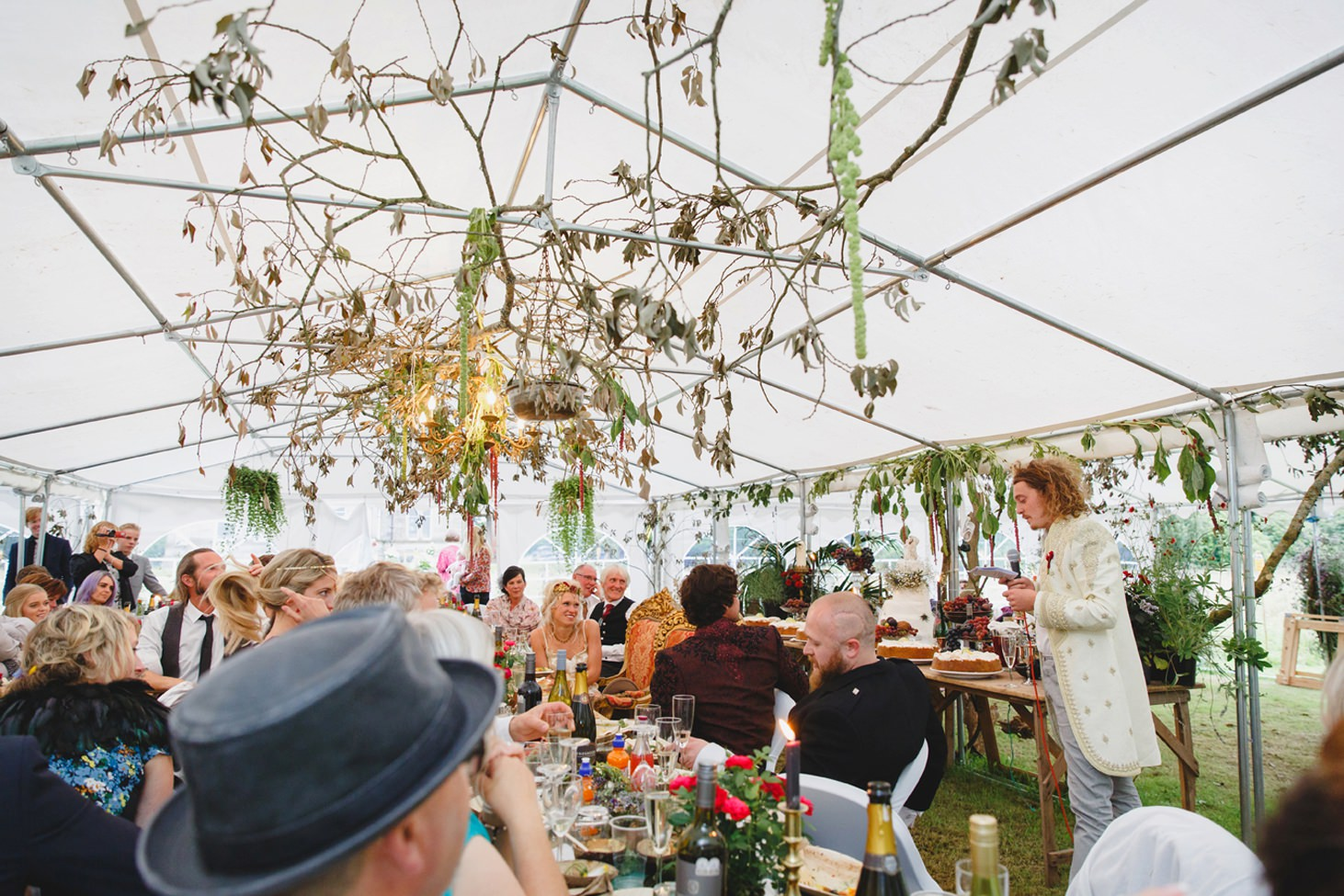 mount stuart wedding photography groom speech