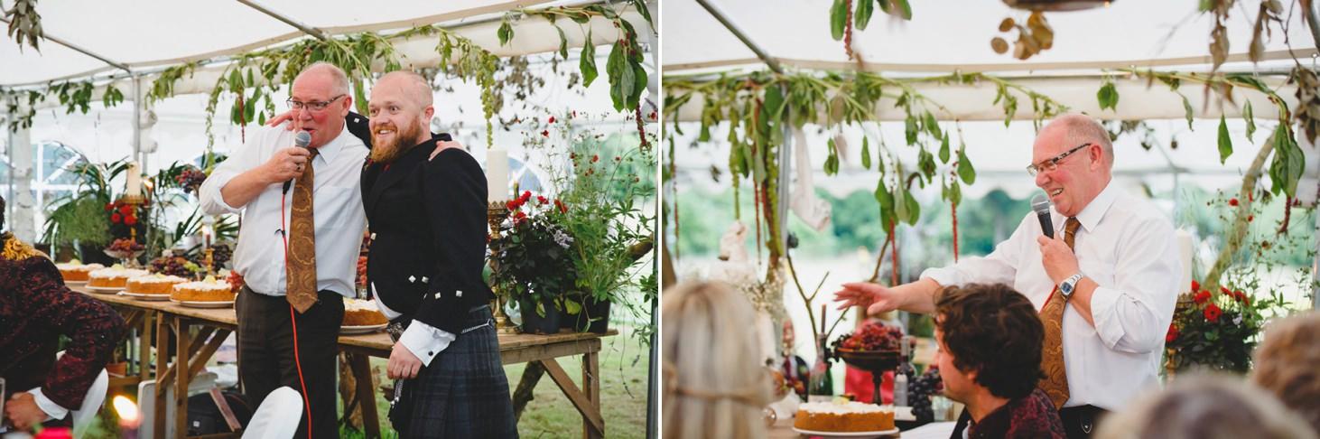 mount stuart wedding photography speeches at wedding