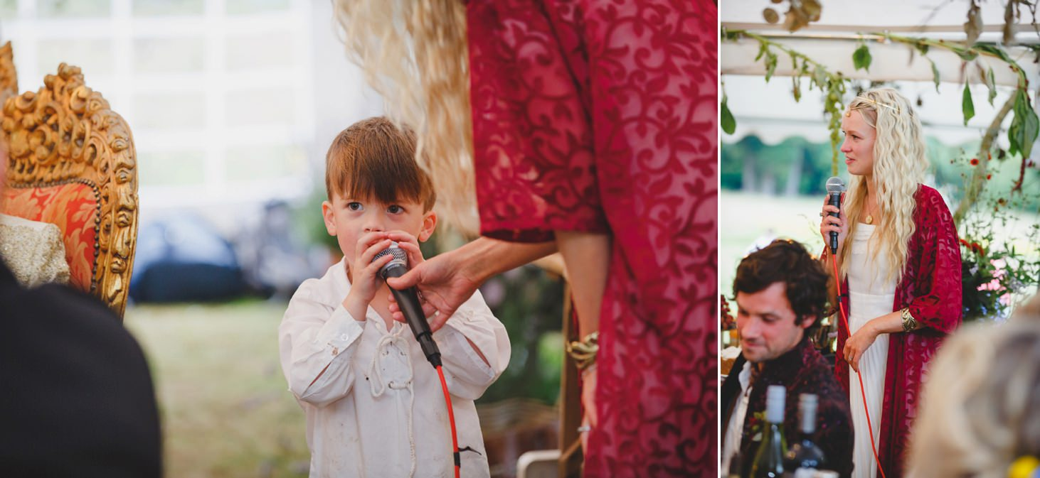 mount stuart wedding photography pageboy speech