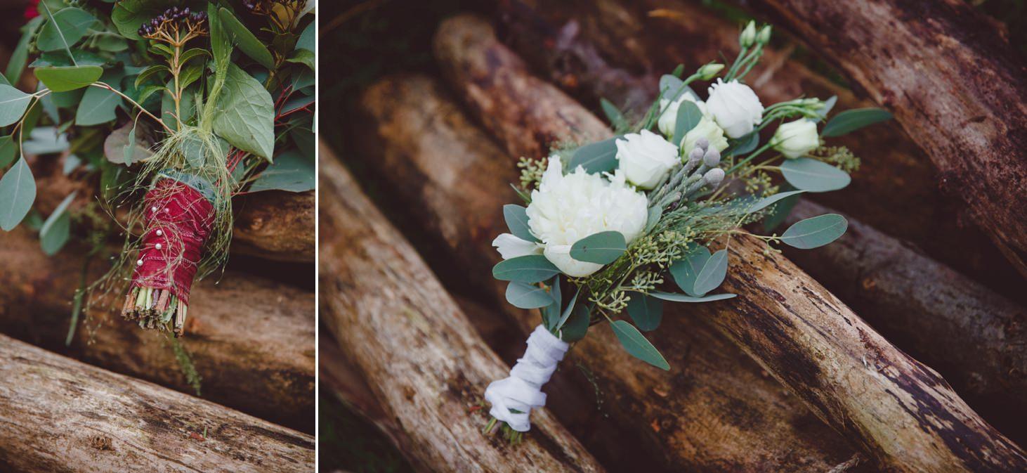 mount stuart wedding photography bouquet details
