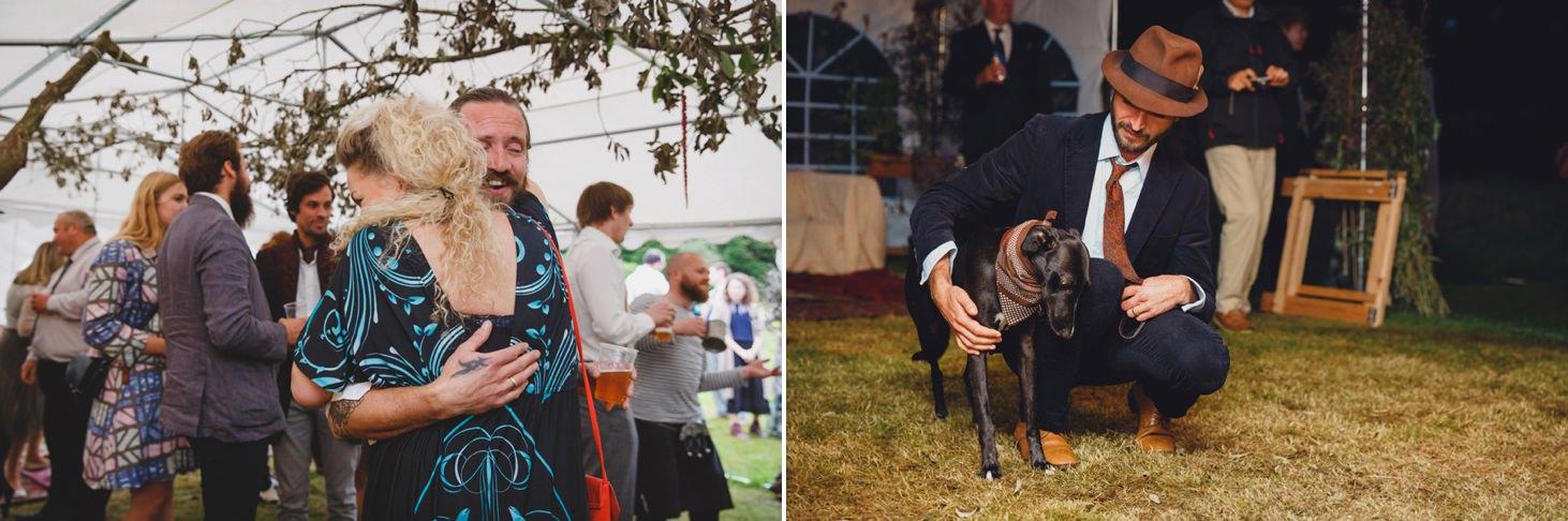 mount stuart wedding photography reception wedding guests