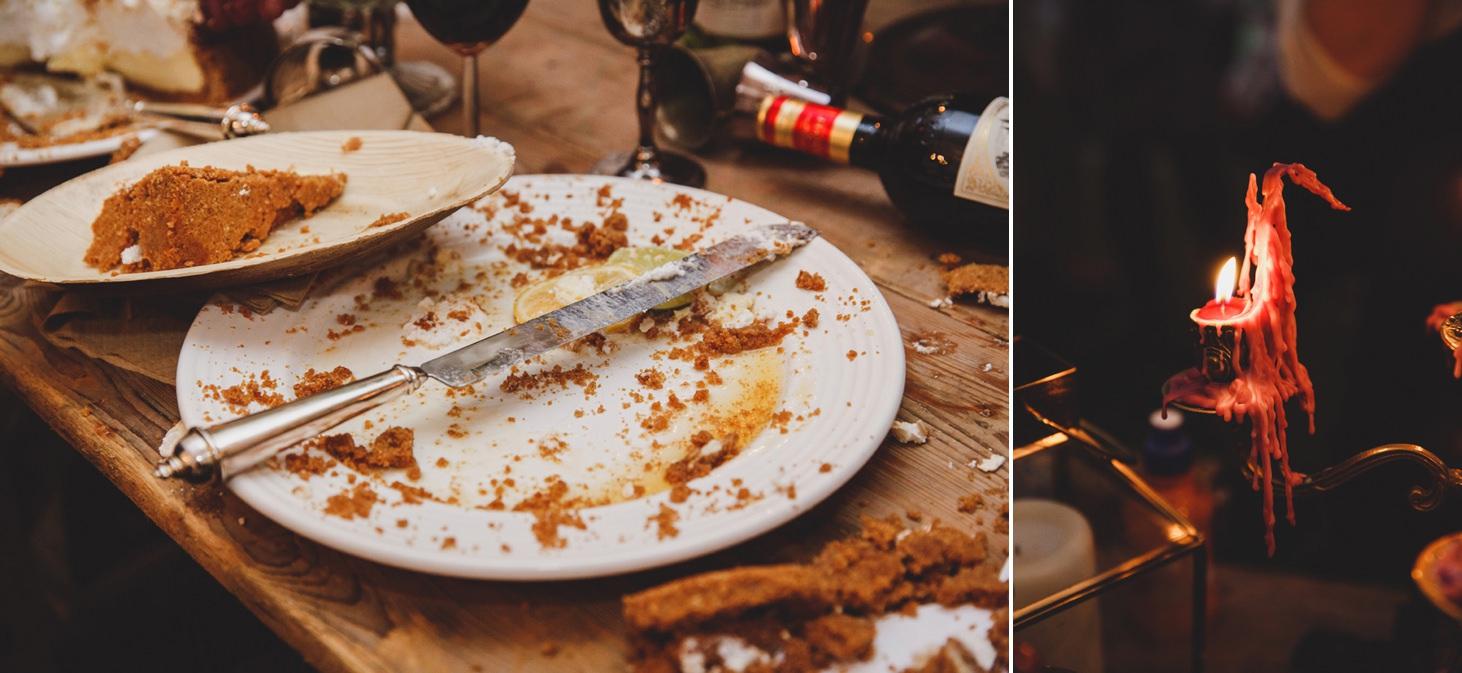 mount stuart wedding photography dinner details