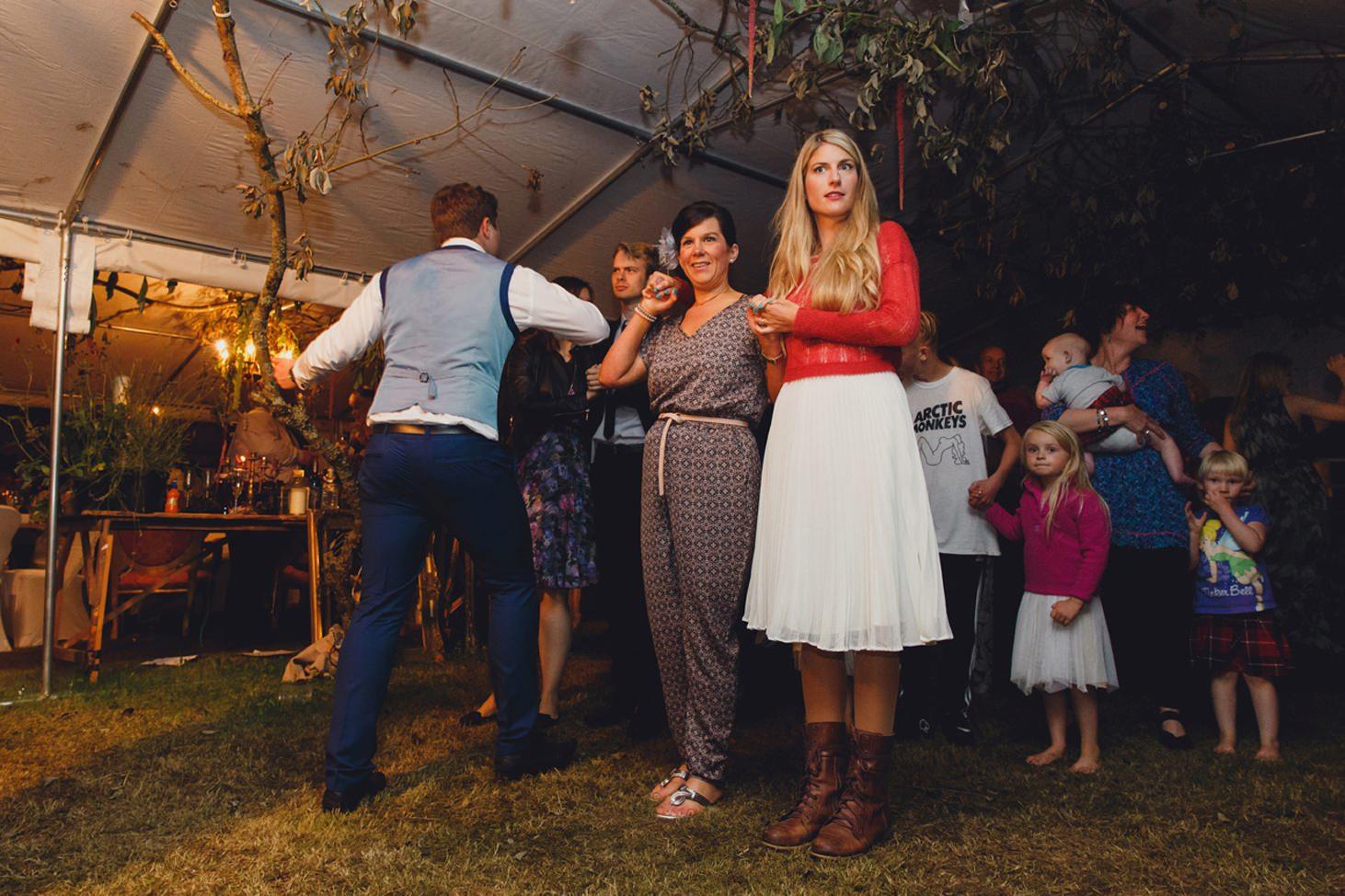 mount stuart wedding photography guests scottish dancing
