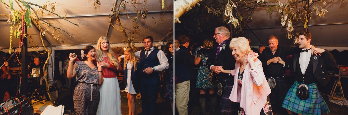 mount stuart wedding photography Ceilidh dance
