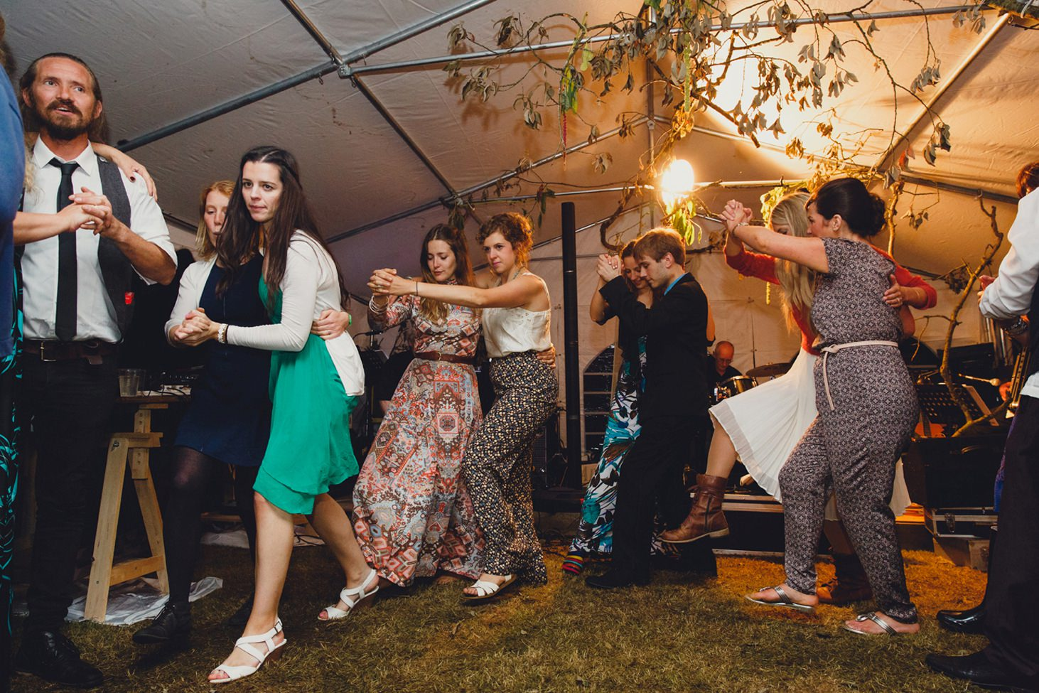 mount stuart wedding photography Ceilidh dancing