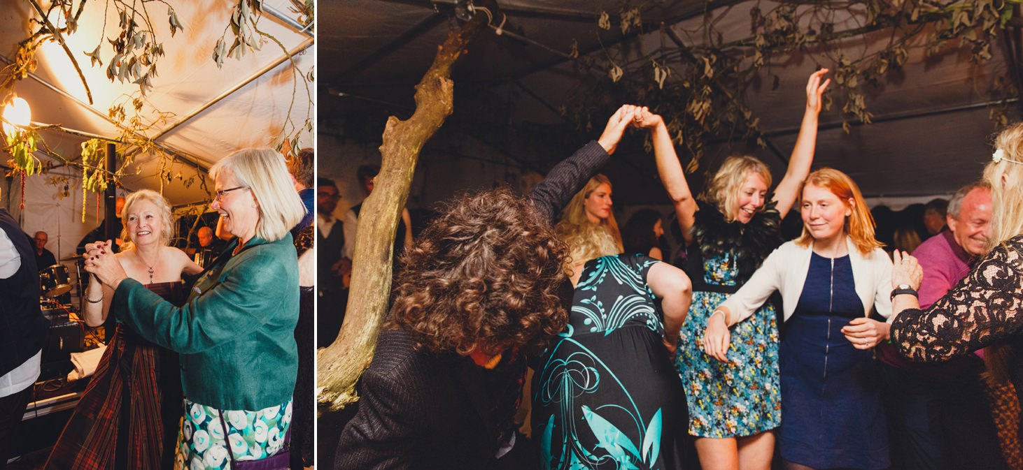 mount stuart wedding photography dancing wedding guests