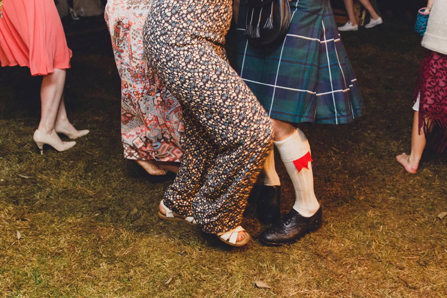mount stuart wedding photography dancing feet