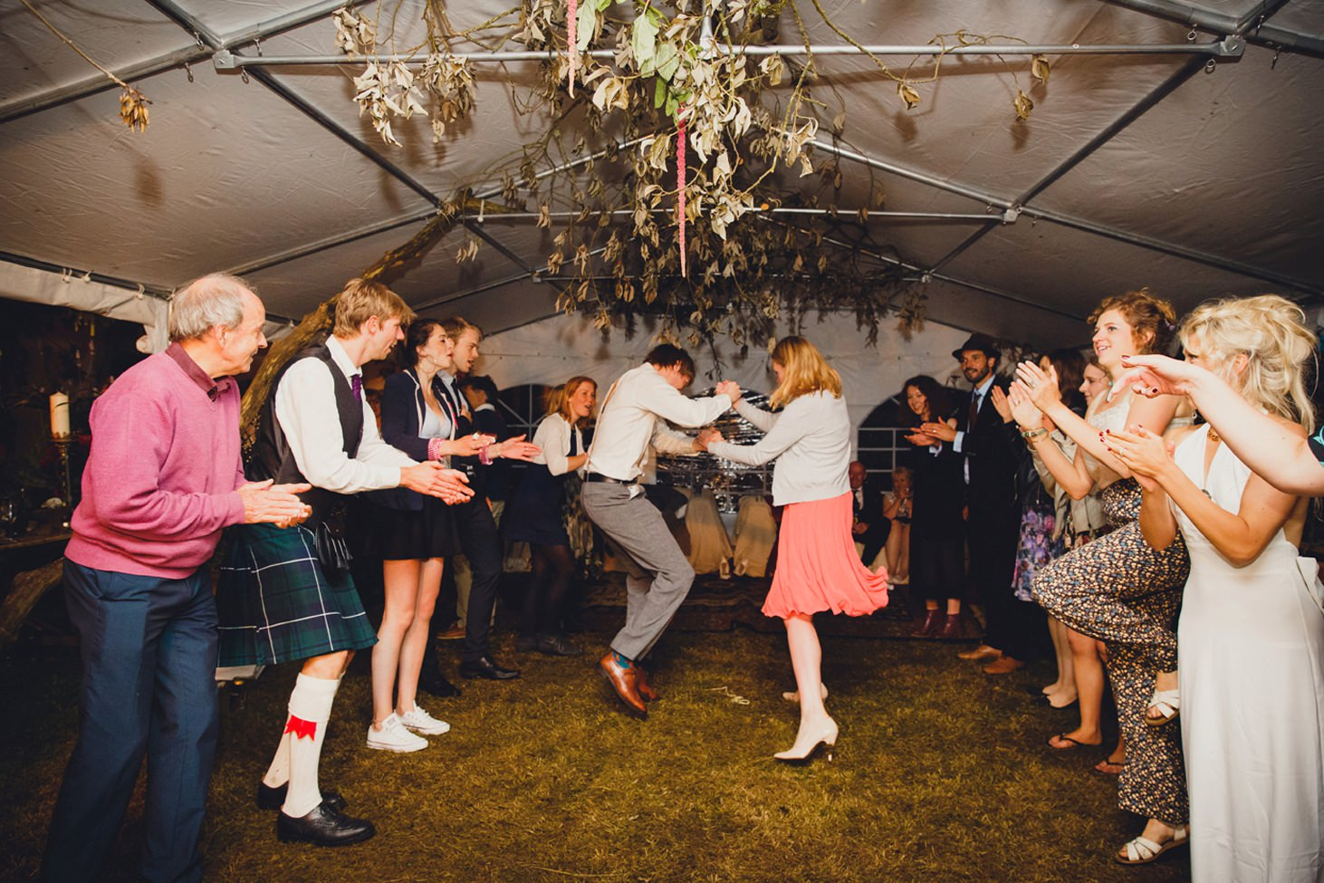 mount stuart wedding photography full ceilidh dancing