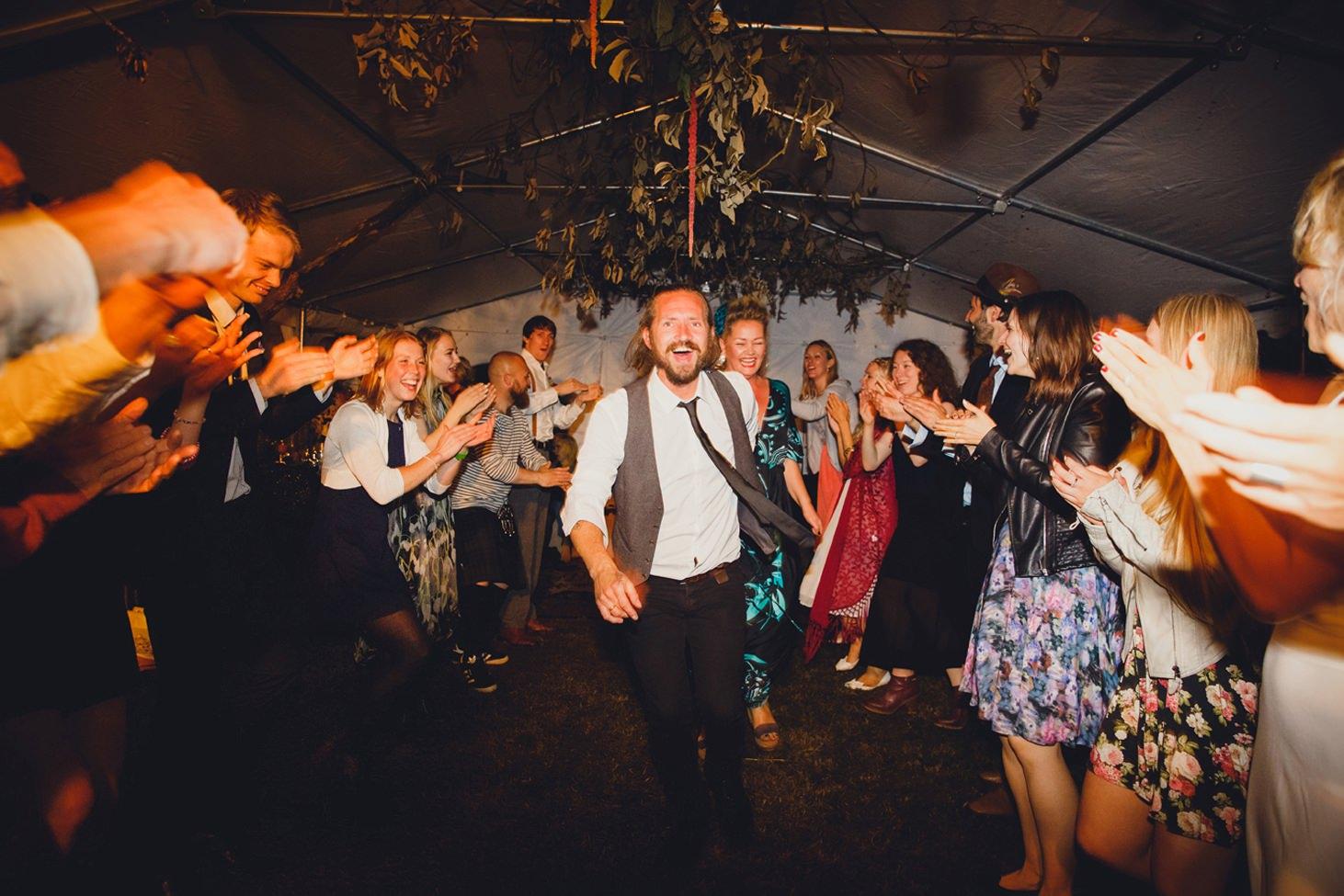 mount stuart wedding photography fun celtic dancing