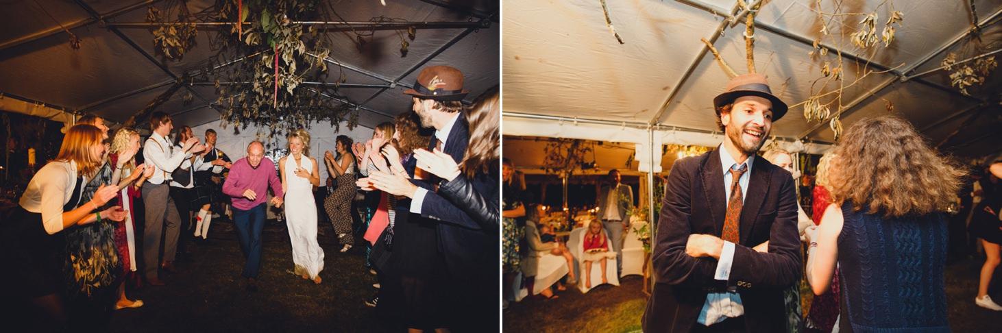 mount stuart wedding photography fun guests dancing
