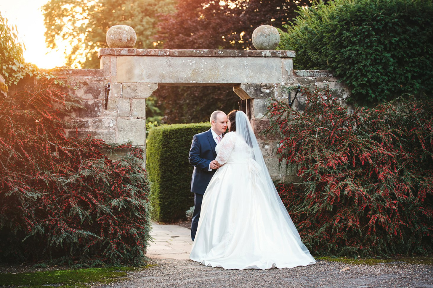 Natural wedding photography in coombe abbey hotel