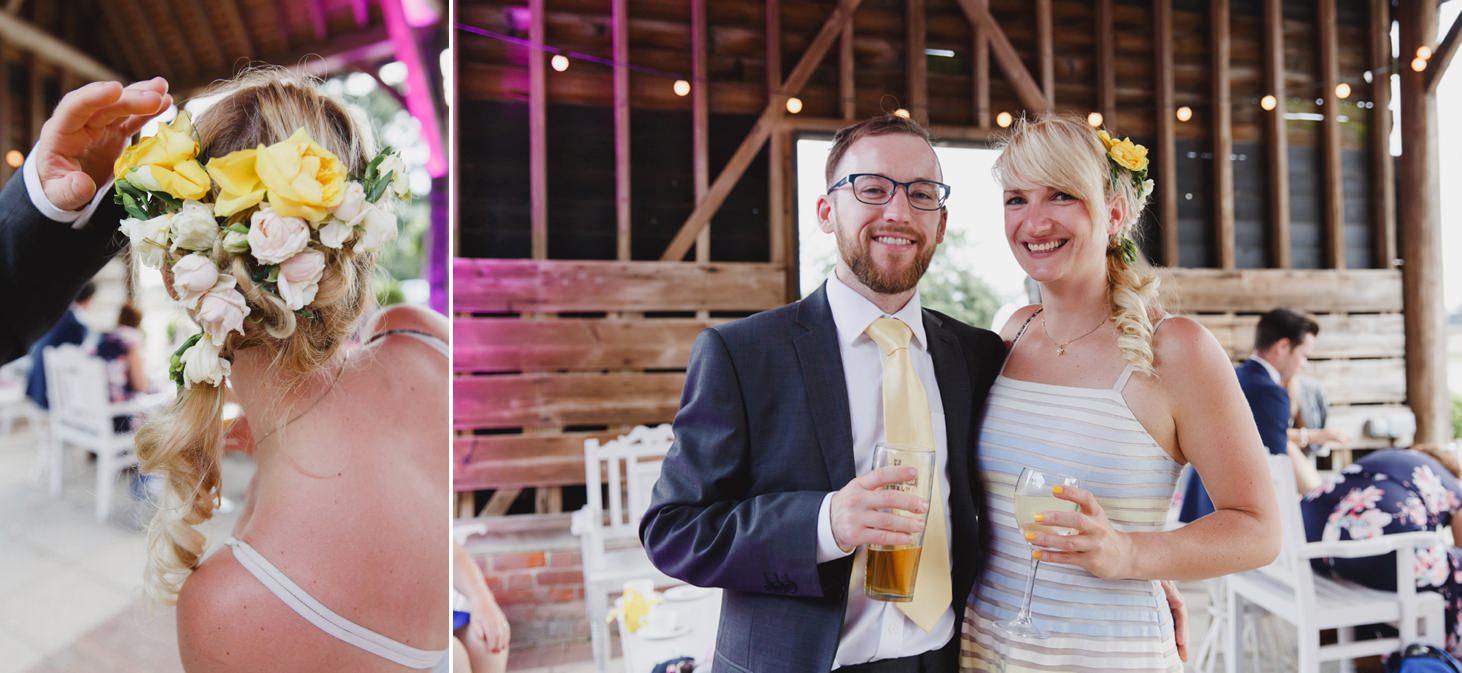 Gaynes park relaxed rustic wedding sarah ann wright 101