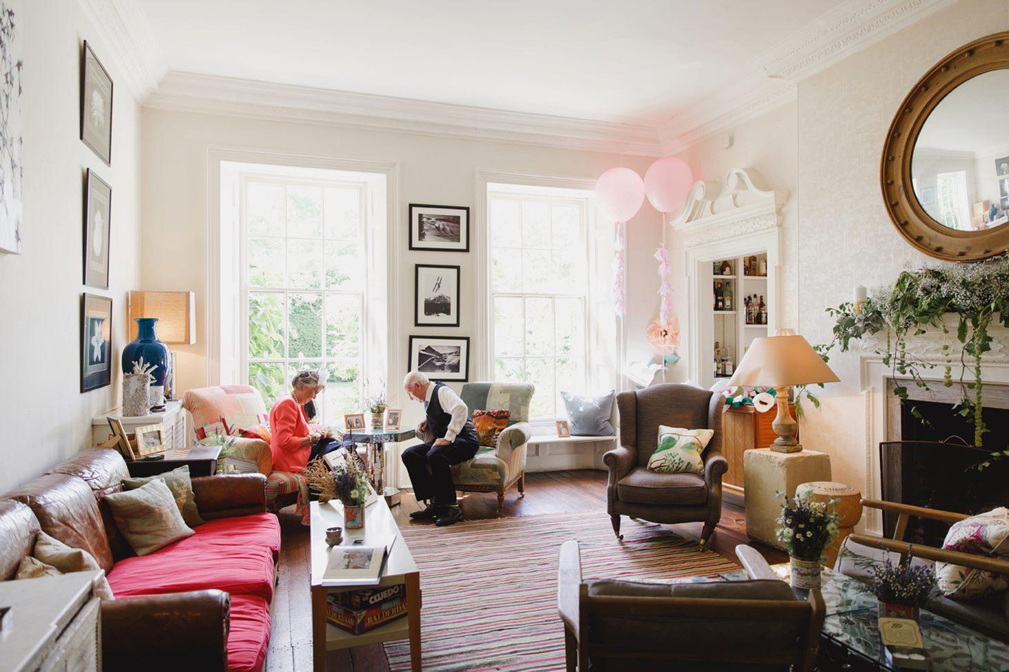 The Rectory Hotel wedding interior