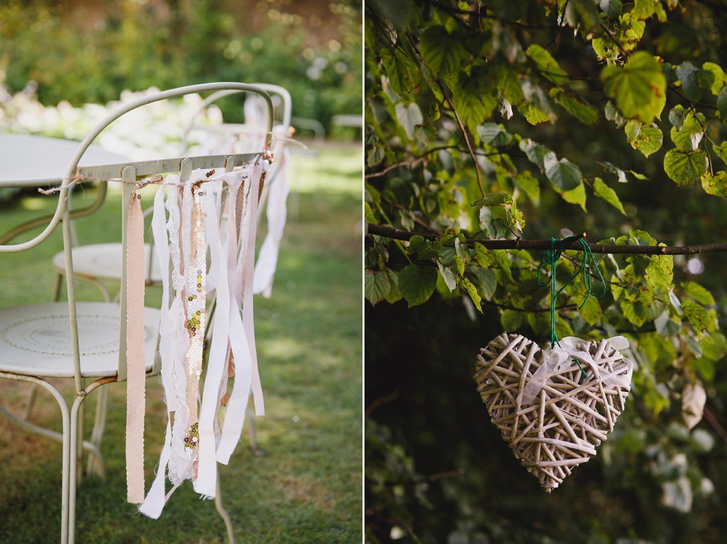The Rectory Hotel wedding wedding chair decorations