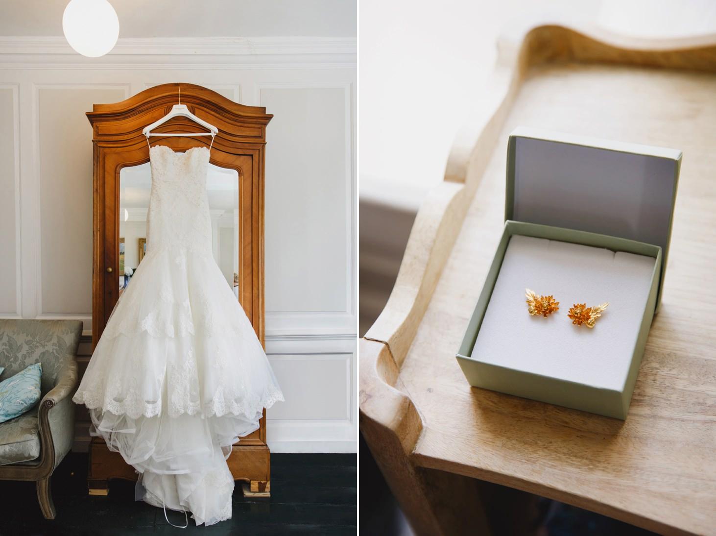 The Rectory Hotel Crudwell wedding dress