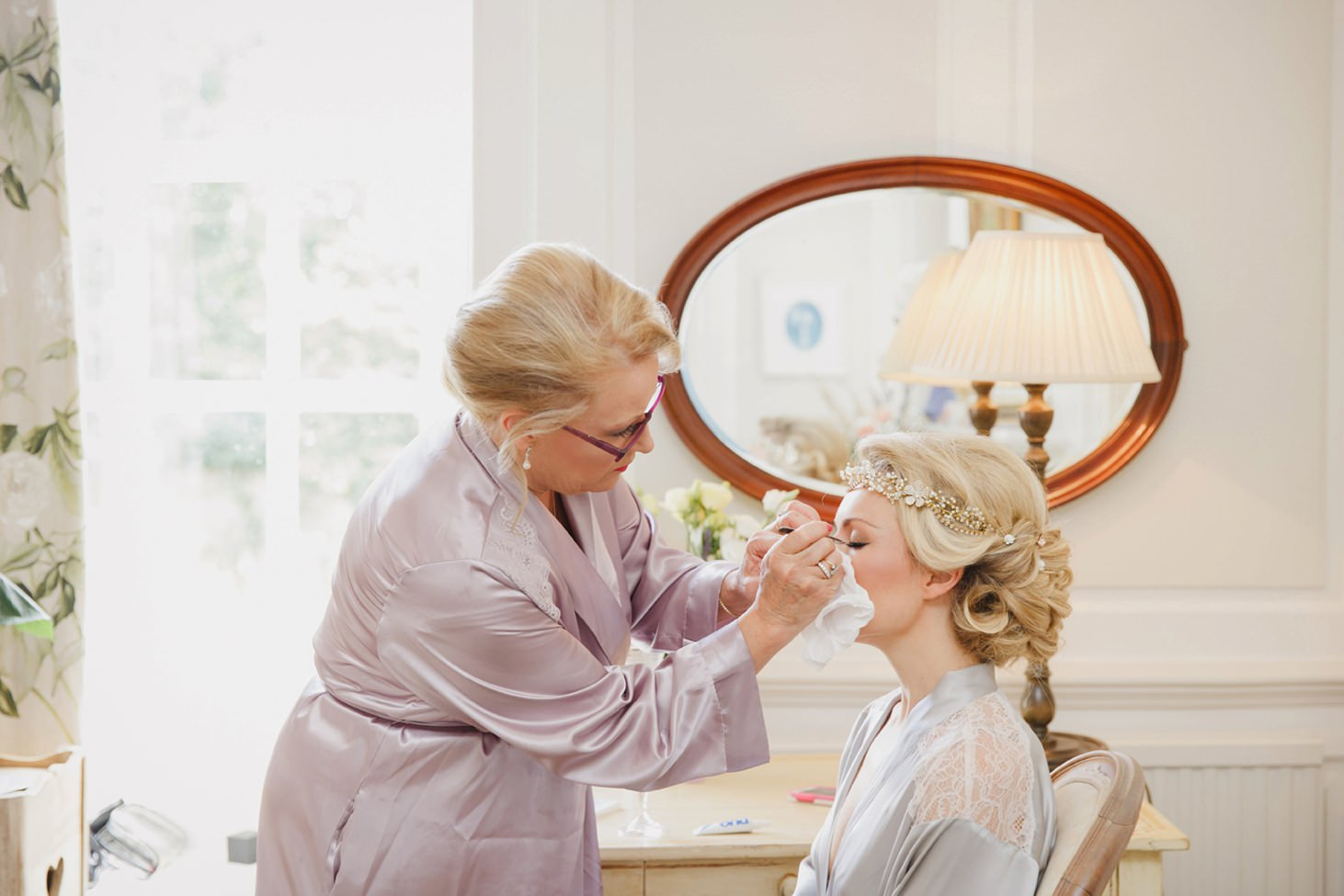 The Rectory Hotel Crudwell bride and makeup