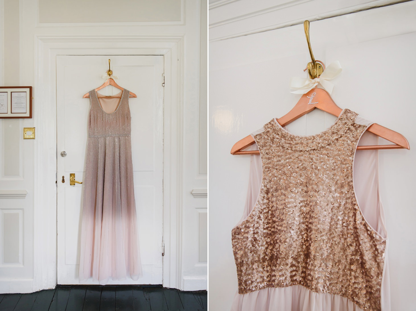 The Rectory Hotel Crudwell briidesmaids dress