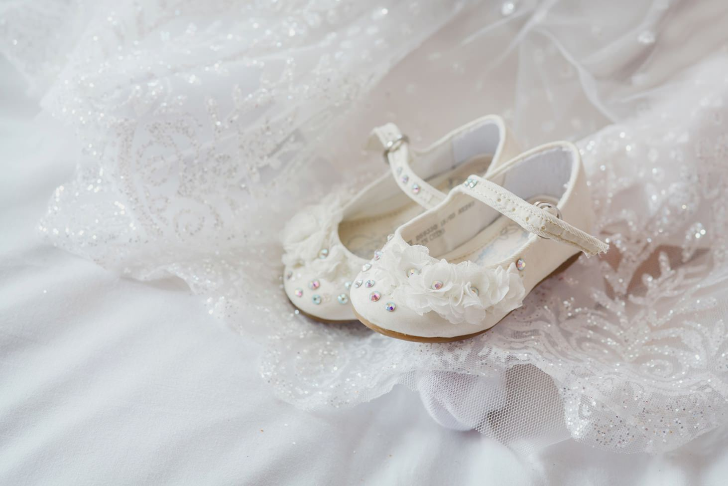The Rectory Hotel Crudwell flower girl shoes