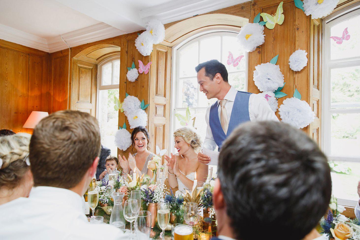 The Rectory Hotel Crudwell groom's speech