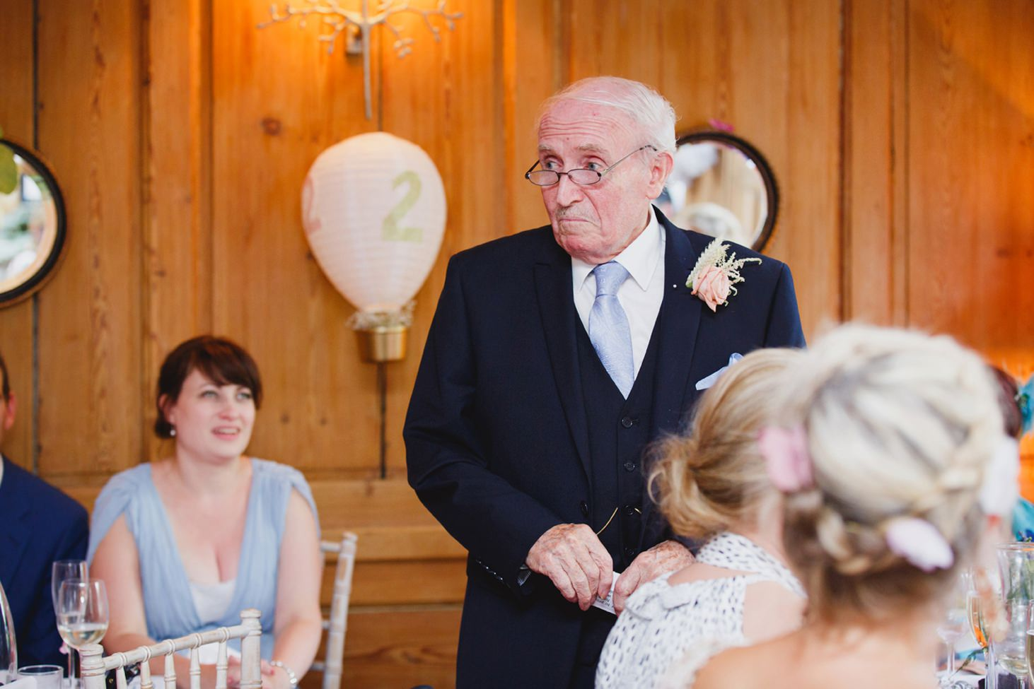 The Rectory Hotel Crudwell grandfather of the bride speech