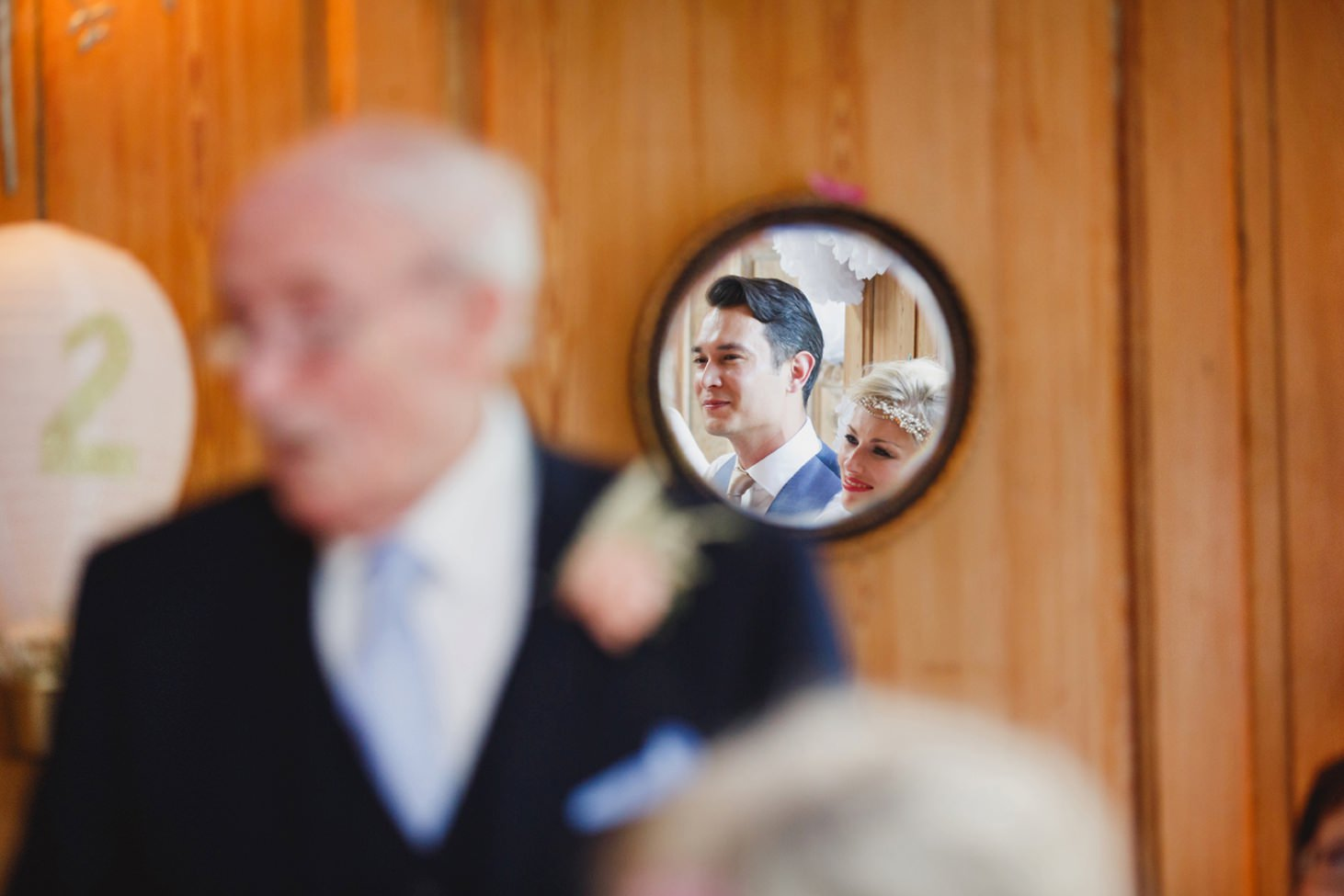 The Rectory Hotel Crudwell brides grandfather speech