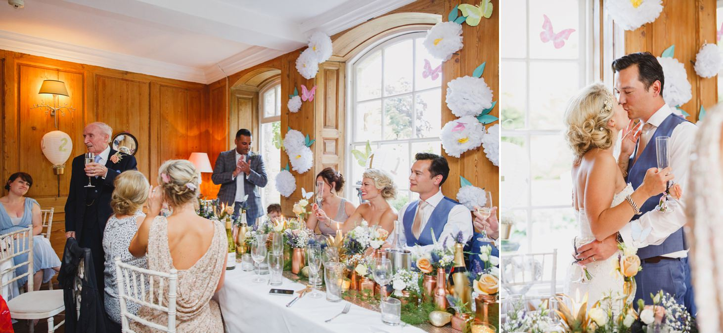 The Rectory Hotel Crudwell wedding speeches