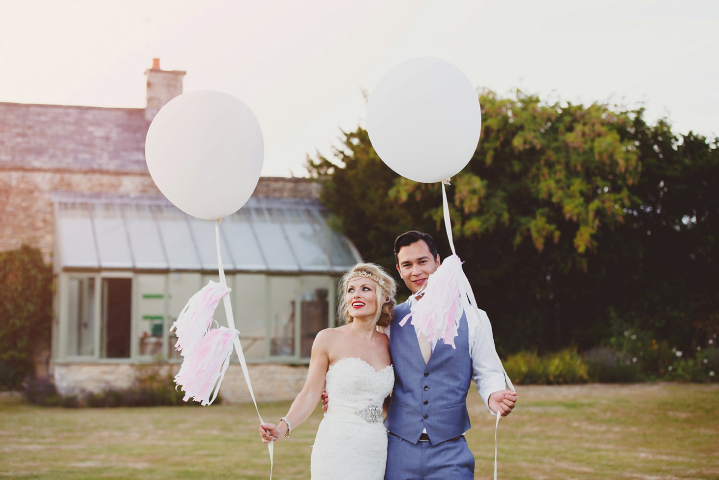The Rectory Hotel Crudwell balloon portrait