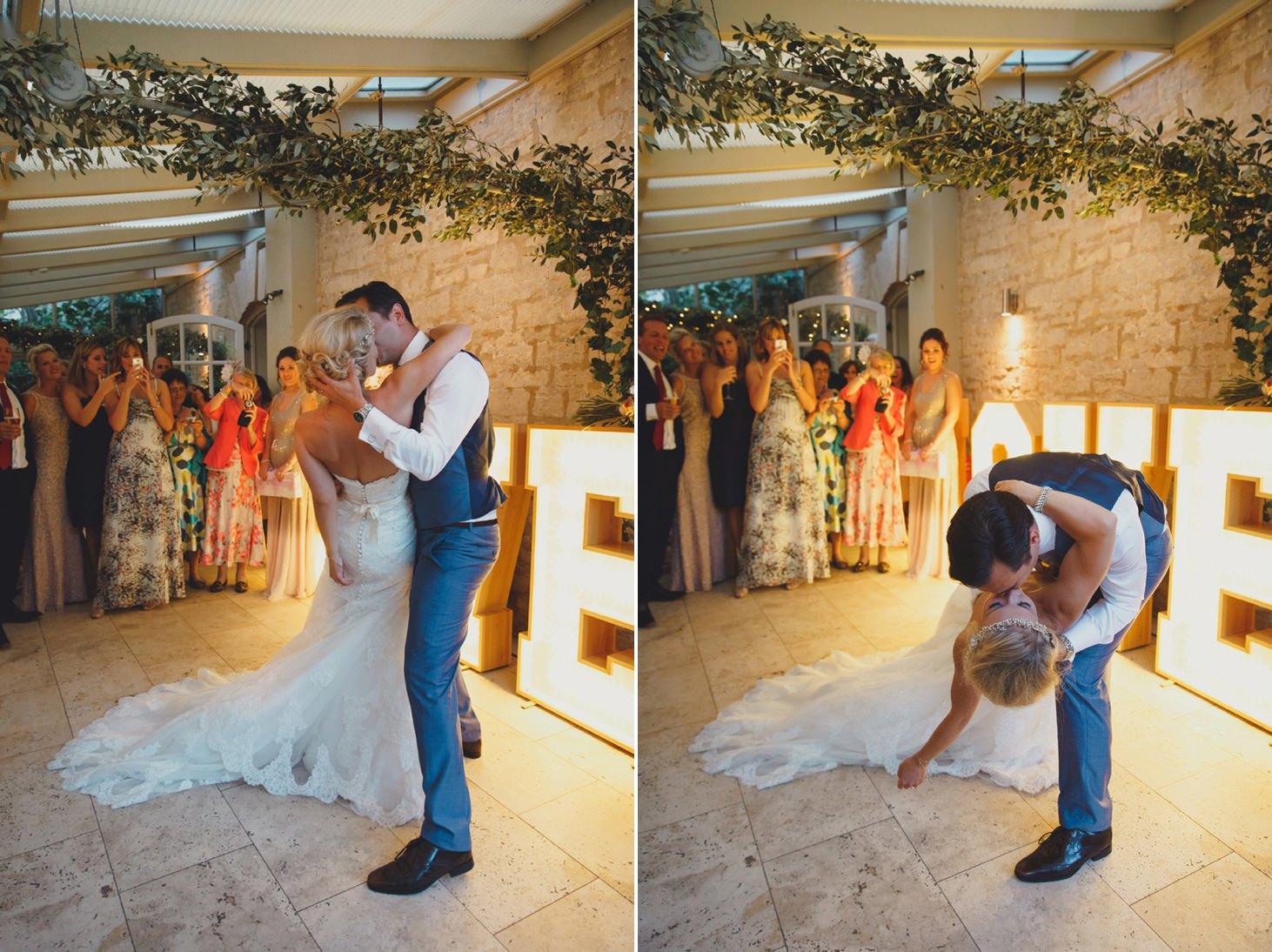 The Rectory Hotel Crudwell wedding dance