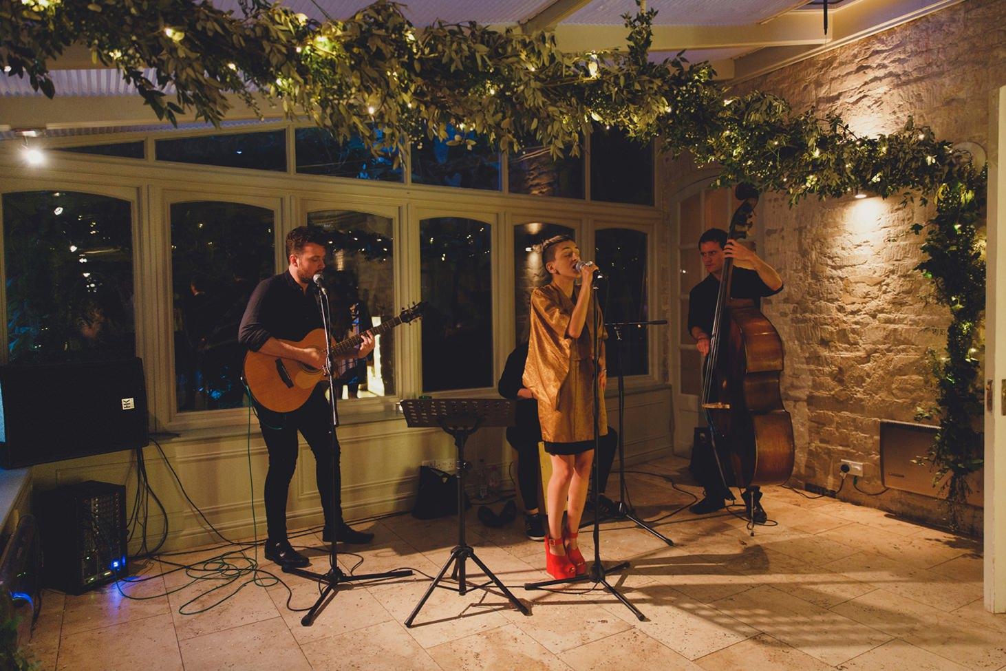 The Rectory Hotel Crudwell wedding band