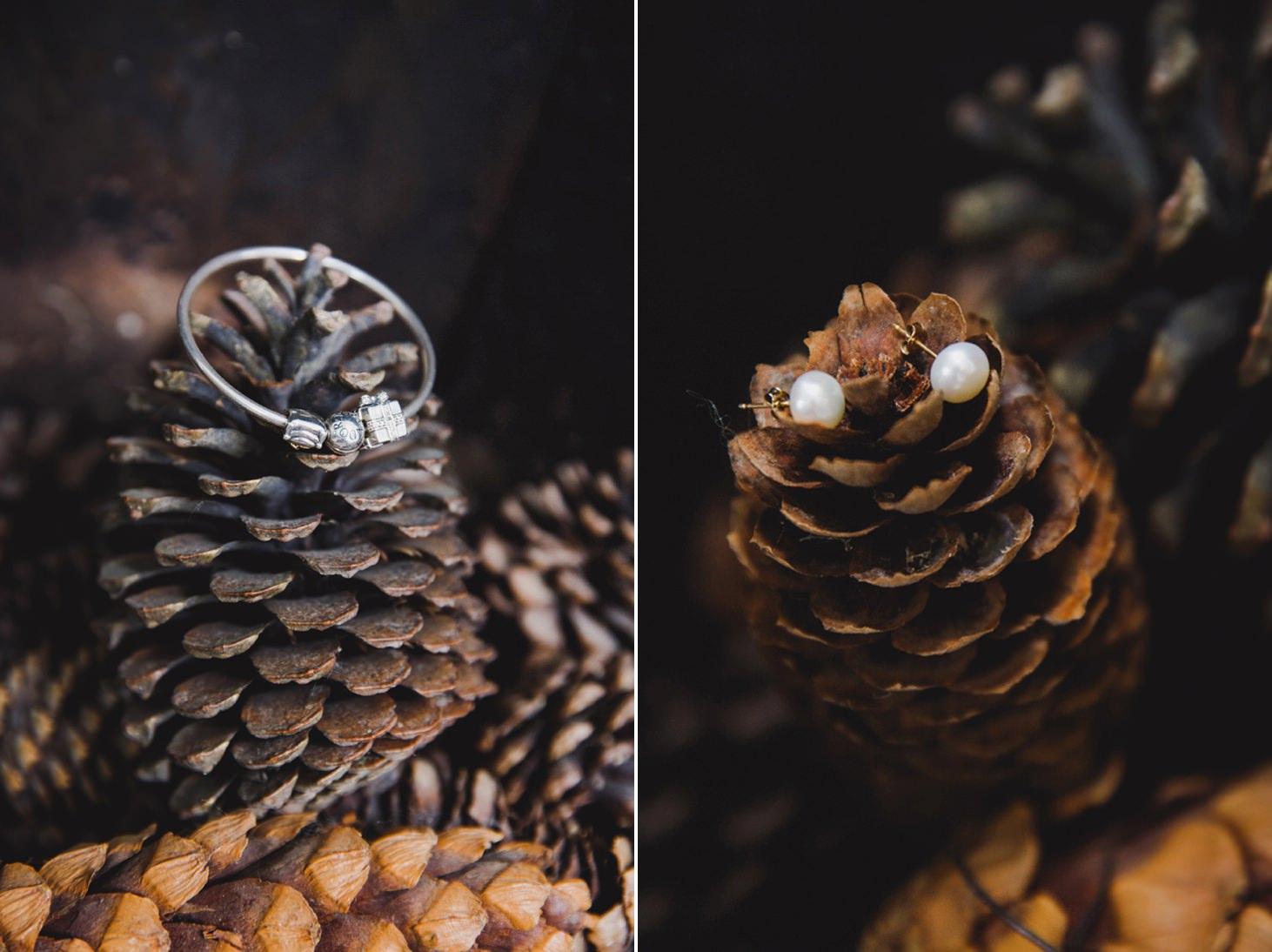 Wycombe Abbey wedding photography bride's jewellery