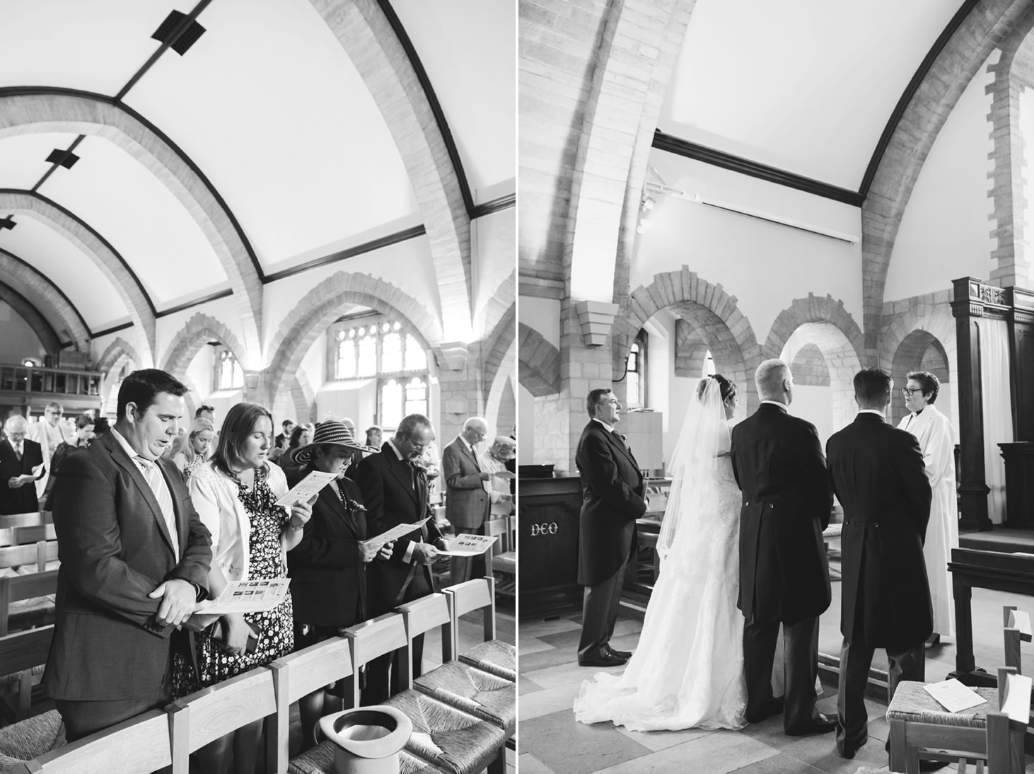Wycombe Abbey wedding photography wedding ceremony