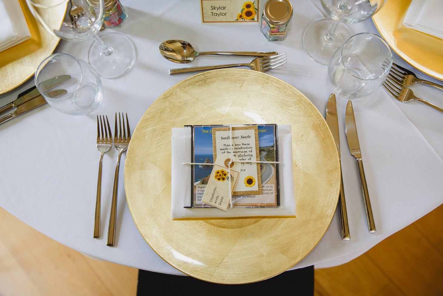 Wycombe Abbey wedding photography wedding breakfast table decoration