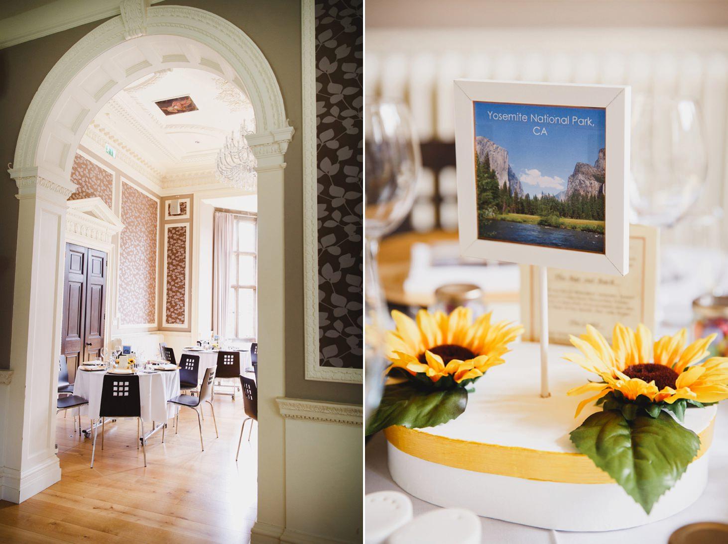 Wycombe Abbey wedding photography wedding breakfast location