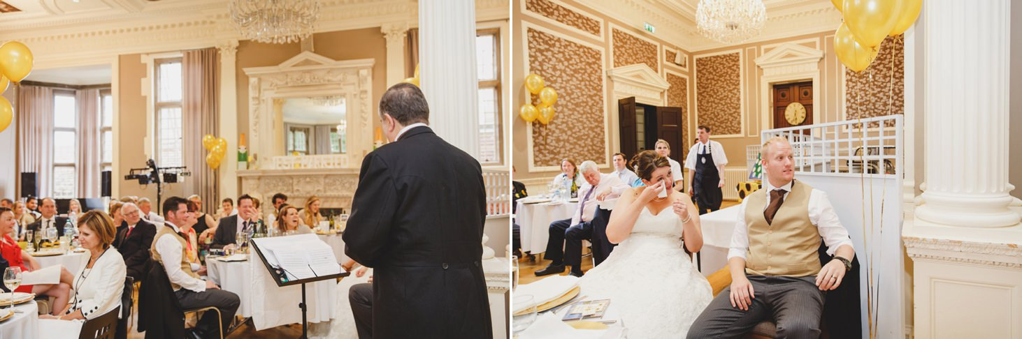 Wycombe Abbey wedding photography speeches