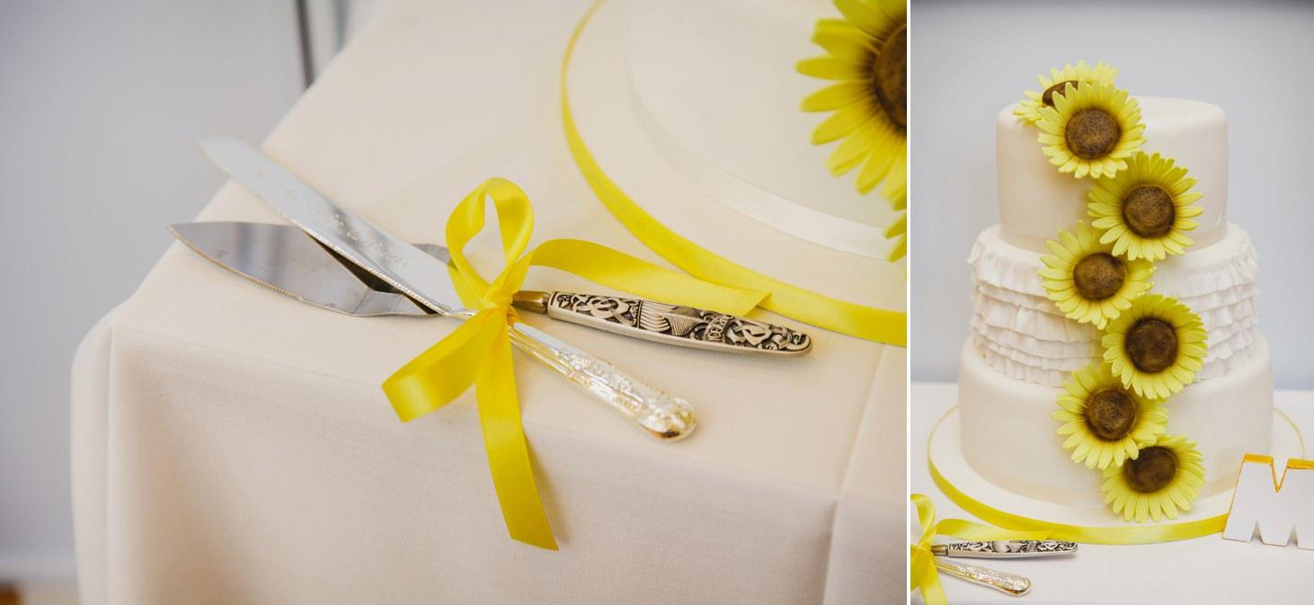 Wycombe Abbey wedding photography wedding cake detail
