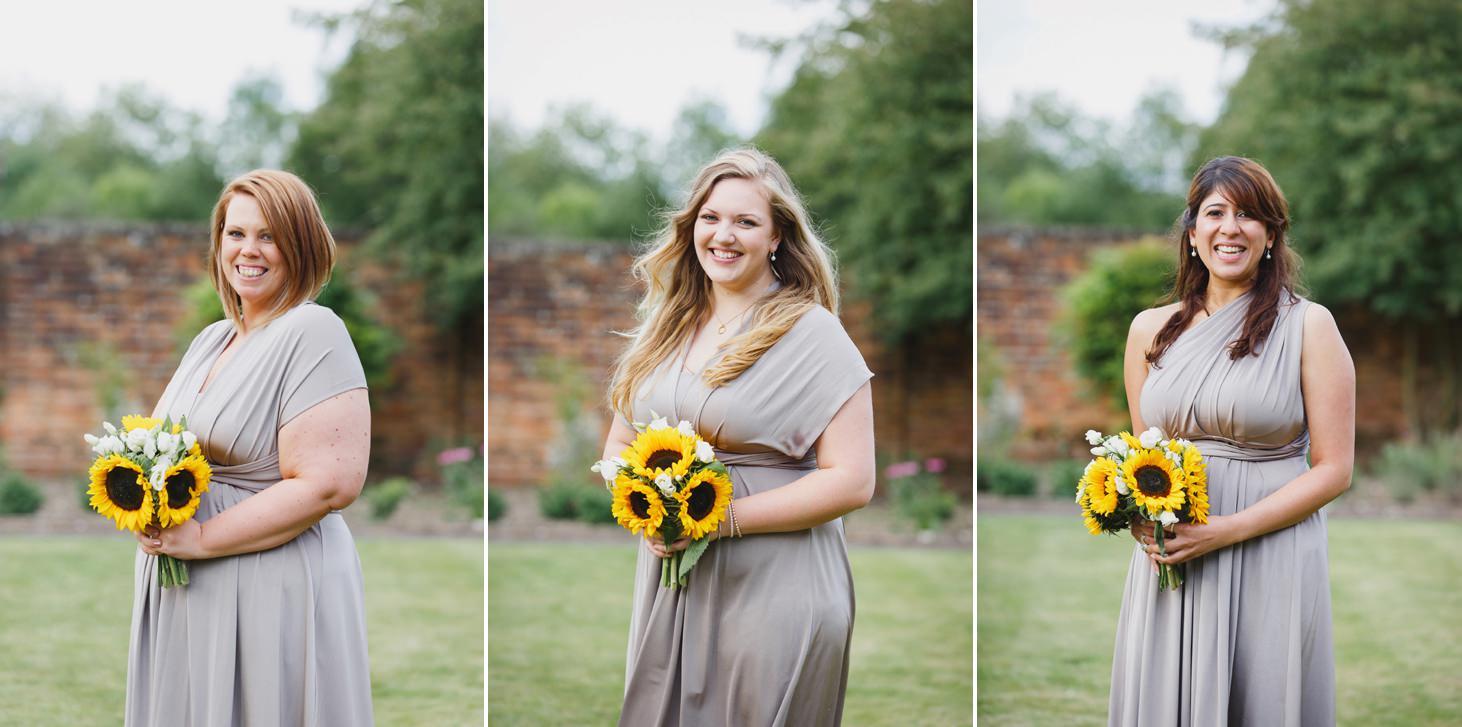 Wycombe Abbey wedding photography bridesmaids portraits