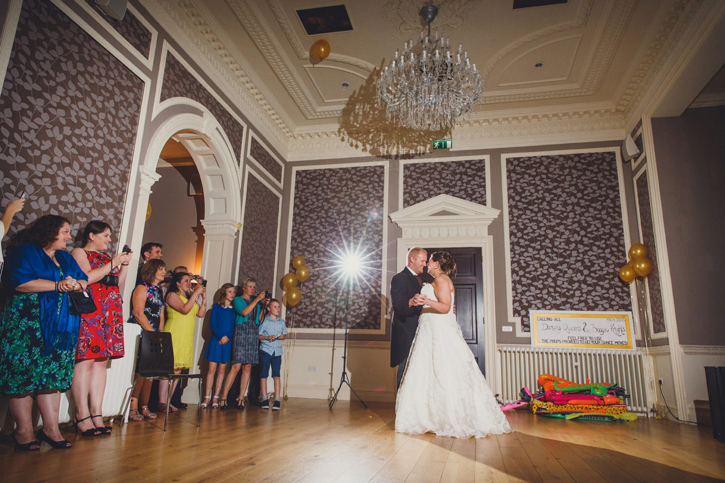 Wycombe Abbey wedding photography first dance