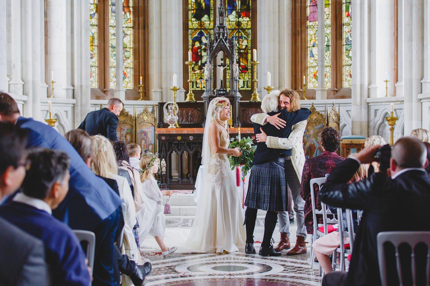 mount stuart wedding photography meal chapel wedding