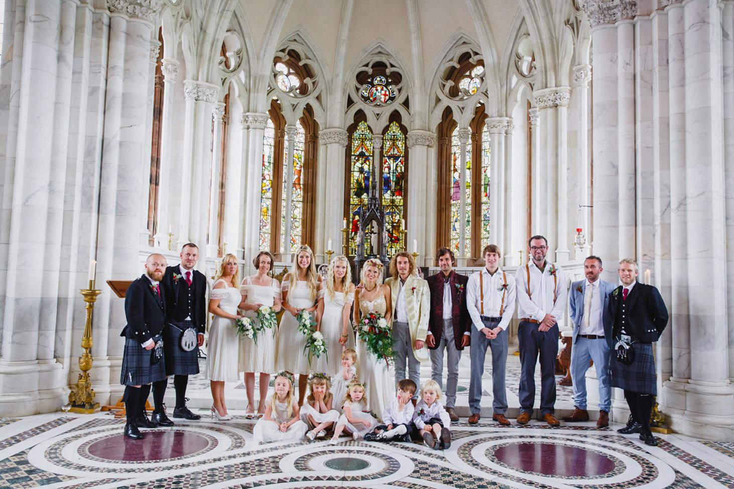 mount stuart wedding photography bridal party