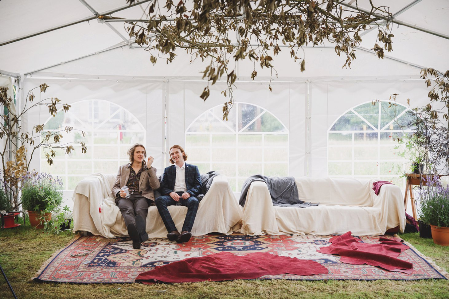 mount stuart wedding photography guests