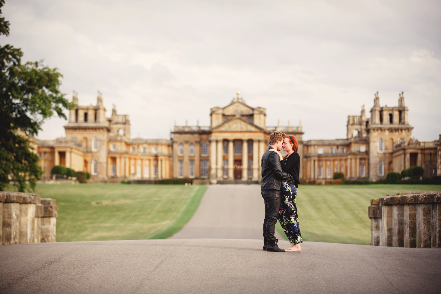 sarah ann wright blenheim palace engagement shoot