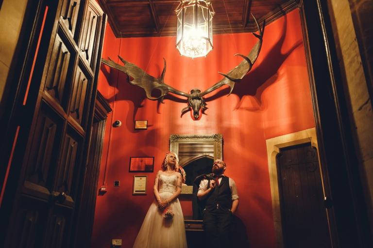 sarah ann wright indoors wedding photo